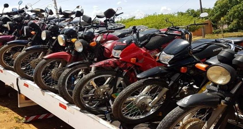 PRF apreende 39 motocicletas na região de Paulo Afonso