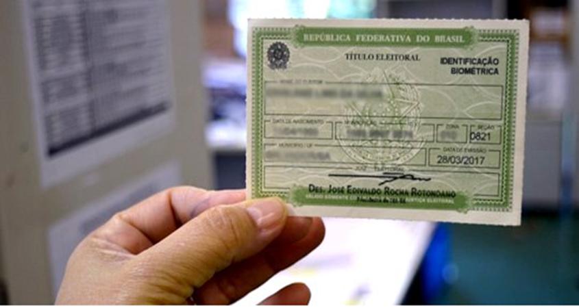 Quem não fez biometria está com titulo cancelado e poderá regularizar o mesmo a parti de 8 de abril