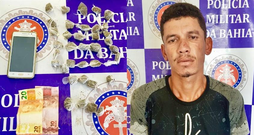 Homem é preso com maconha no BTN III em Paulo Afonso