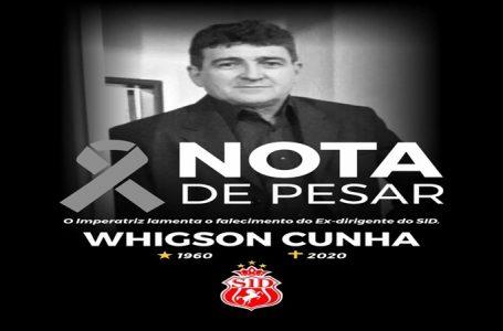 Morre aos 70 anos, Whigson Cunha, ex-dirigente do Imperatriz
