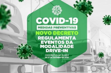 Prefeitura de Paulo Afonso publica Decreto que regulamenta eventos na modalidade drive-in