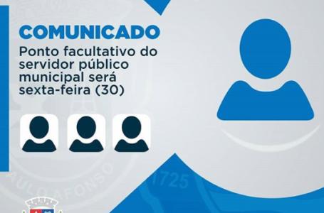 Prefeitura de Paulo Afonso decreta ponto facultativo para o servidor público nesta sexta  (30)